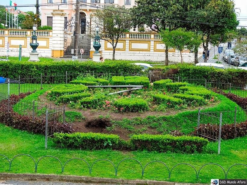 Relógio das Flores - O que fazer em Curitiba, Paraná