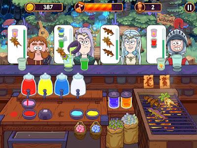 لعبة Potion Punch للأندرويد، لعبة Potion Punch مدفوعة للأندرويد