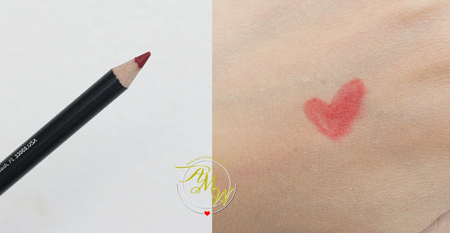 a swatch photo of Ofra Lipliner in Delicious Red