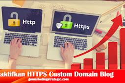 Cara Mudah Menggunakan HTTPS Custom Domain di Blog