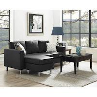 Dorel Living Small Es Configurable Sectional Sofa Multiple Colors