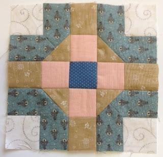 Blok 34 1865 passion sampler quilt