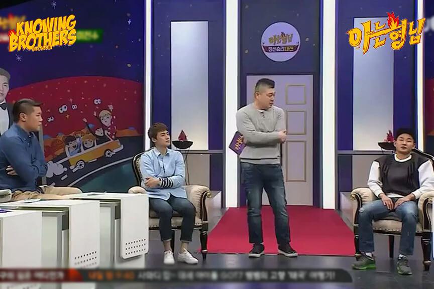 Nonton streaming online & download Knowing Bros eps 14 bintang tamu Oh Sang-jin, Lee Chun-soo & Lee Sang-min subtitle bahasa Indonesia
