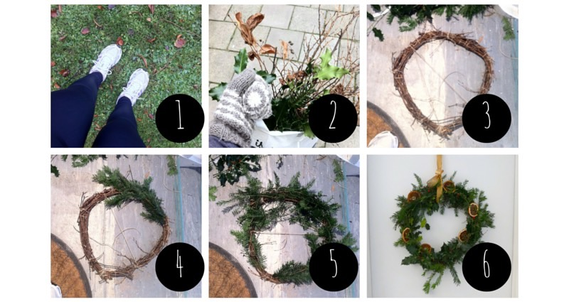 Ravacholle Lifestyle Blog | How to make a Christmas Wreath: instructions