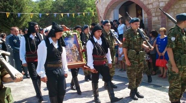 1747ος πανηγυρικός εορτασμός στην Ιερά Μονή Αγίου Ιωάννη Βαζελώνος