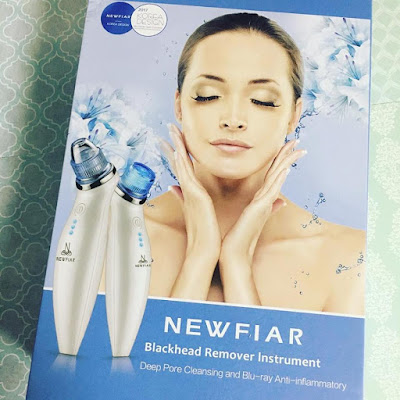 Newanfiar, extractor puntos negros, acne, grasa, limpiador facial,