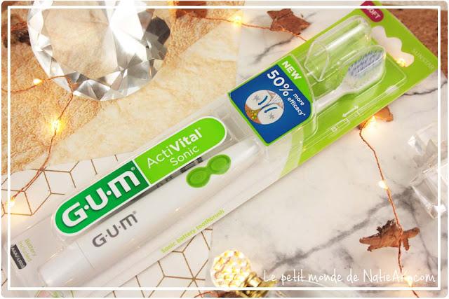 brosse à dent électrique ActiVital sonic de GUM