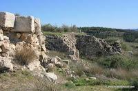 ישראל בתמונות: טורון דה שבלייה - שרידי מבצר צלבני לטרון