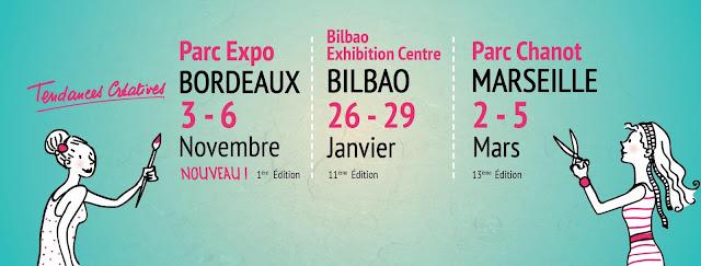 Toute l'information sur le salon Tendances Créatives Bordeaux 2016
