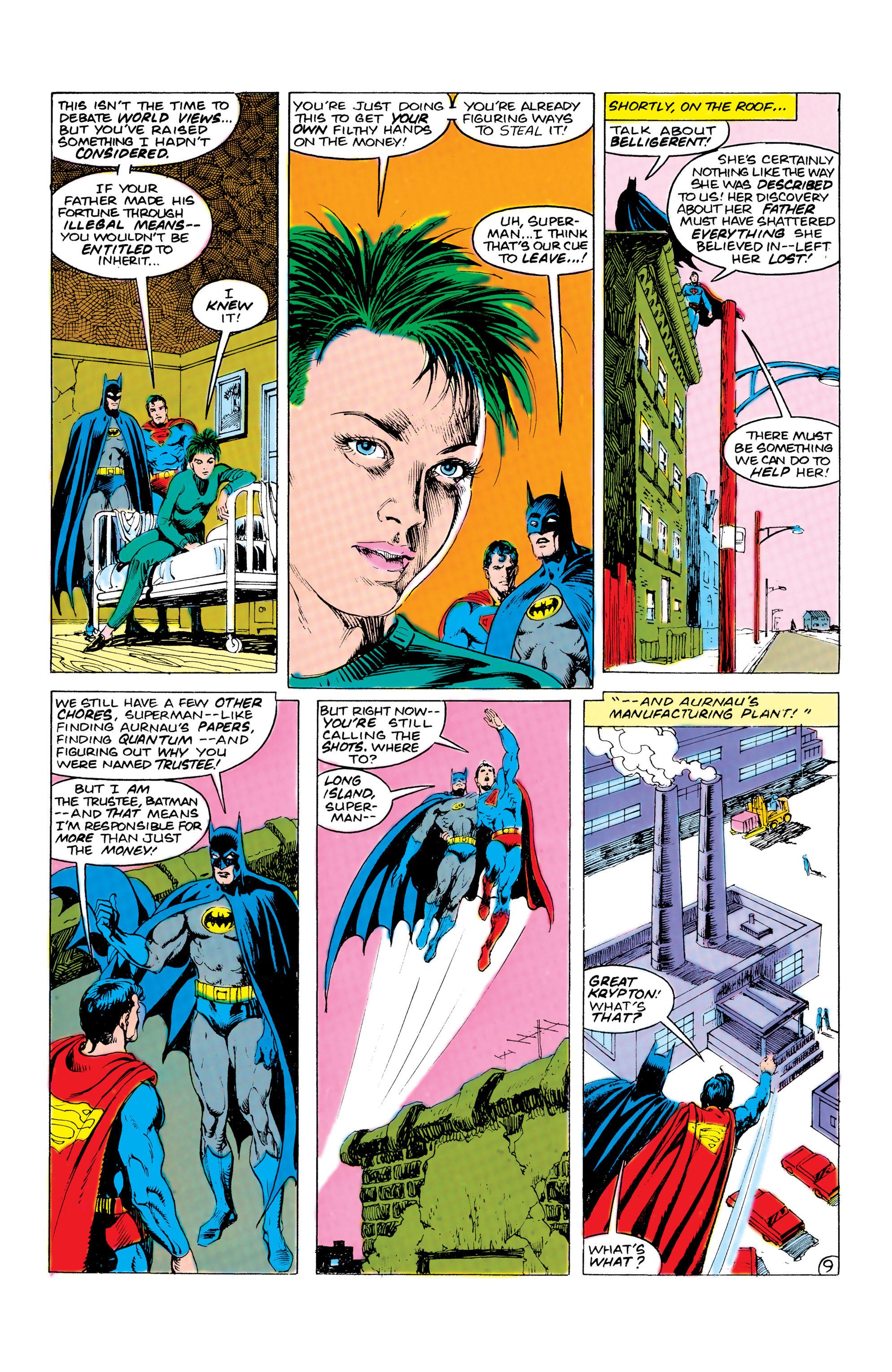 Read online World's Finest Comics comic -  Issue #309 - 10