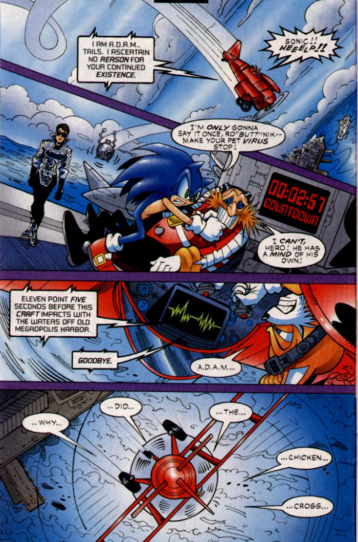 Read online Sonic The Hedgehog comic -  Issue #132 - 9