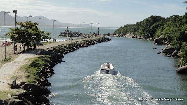 Canal da Barra da Lagoa - Floripa