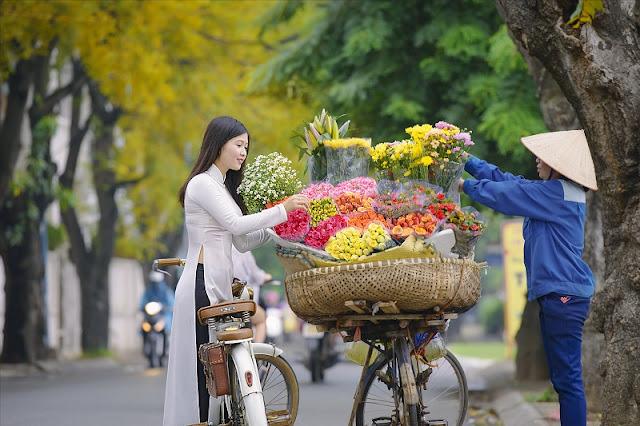 Looking for the hidden corner of the most beautiful season in Vietnam
