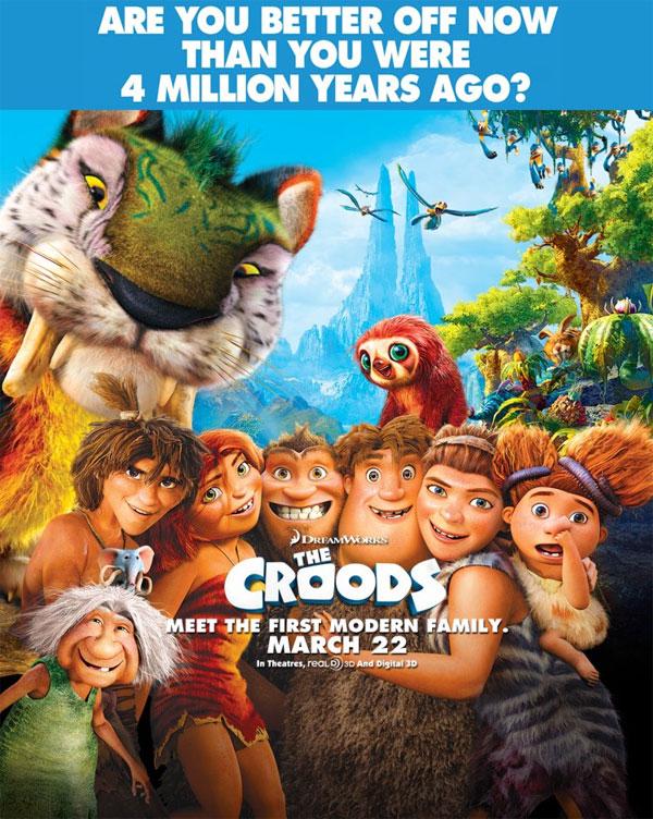 طرح الجزء الثاني من فيلم the croods فى دور العرض 8