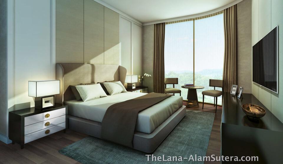 Contoh Design Kamar Tidur Apartemen The Lana