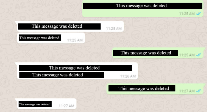 WhatsApp now allows users to delete messages sent by mistake with turns on unsend feature
