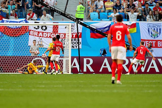 2018FIFAワールドカップ ロシア 3位決定戦 イングランド対ベルギー