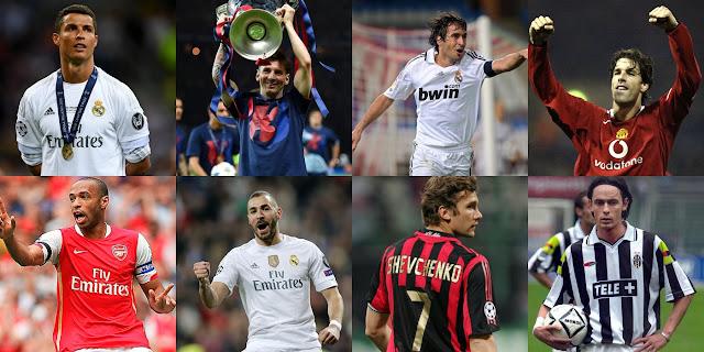Top Skor Liga Champions Sepanjang Masa