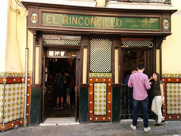 restaurante el rinconcillo sevilla españa seville spain