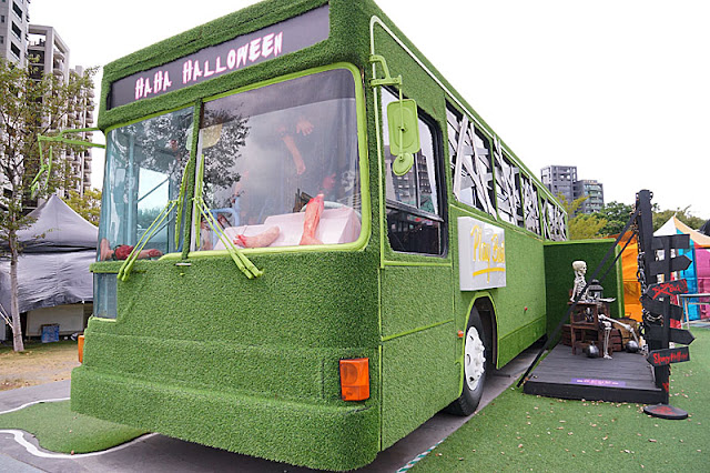 DSC05985 - 勤美綠園道恐怖巴士來襲│吸血鬼的棺材、骷髏人監獄與胯下往後看的俏皮鬼