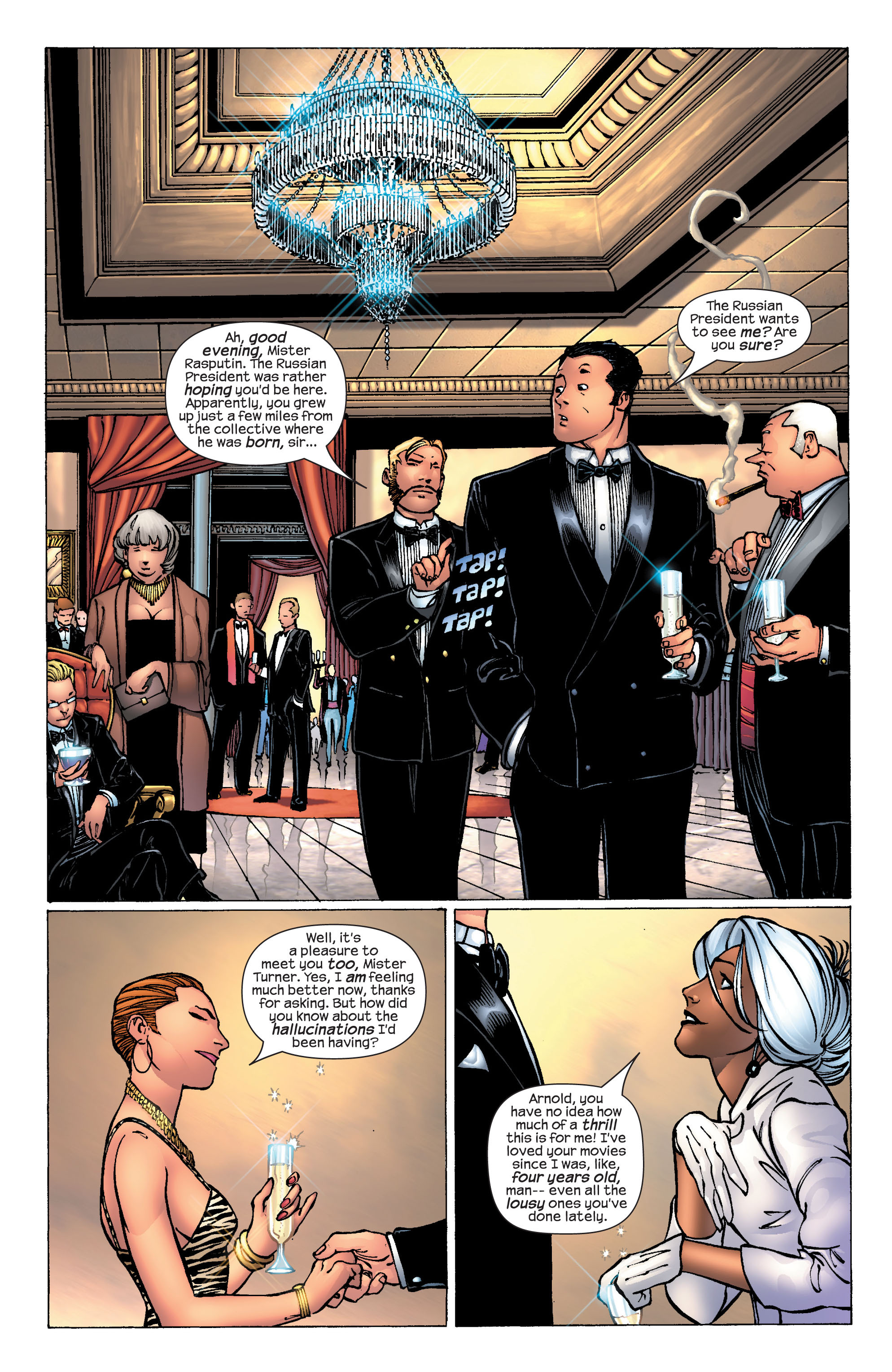 Read online Ultimate X-Men comic -  Issue #25 - 7