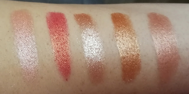 Swatches Palette Golden State of Mind Colourpop
