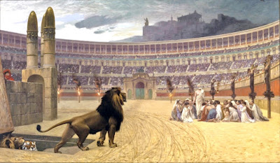 lions and Christians
