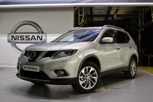новый Nissan XTrail