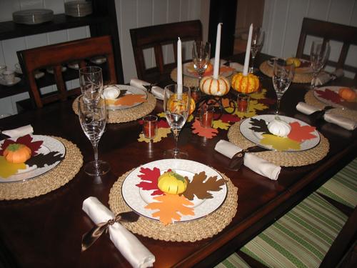 Thanksgiving Table Setting Ideas Easy Loris Decoration & Wonderful Simple Thanksgiving Table Settings Photos - Best Image ...