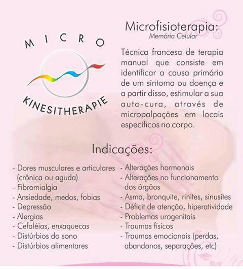 Resultado de imagem para microfisioterapia