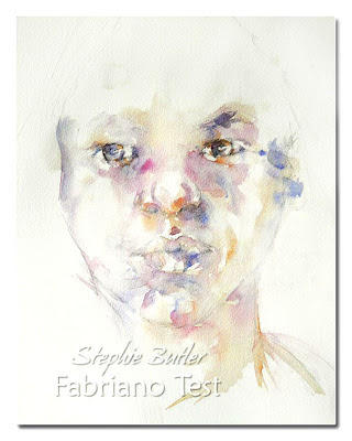Stephie Butler Studio: Watercolour Paper     Fabriano test