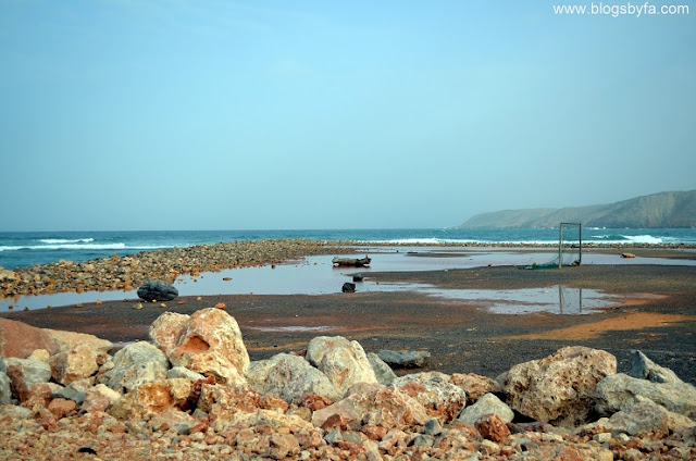 5 things to see in muscat oman - Qantab beach