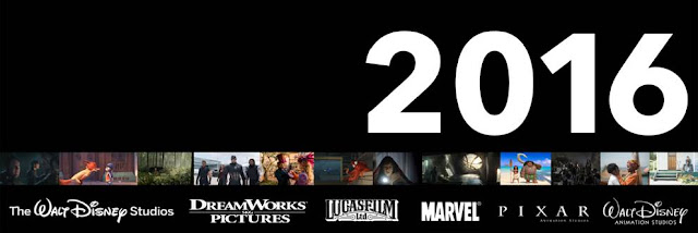 2016 Walt DIsney Studios Motion Picture Slate