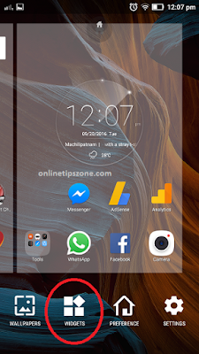 How to add Google search bar on Home screen
