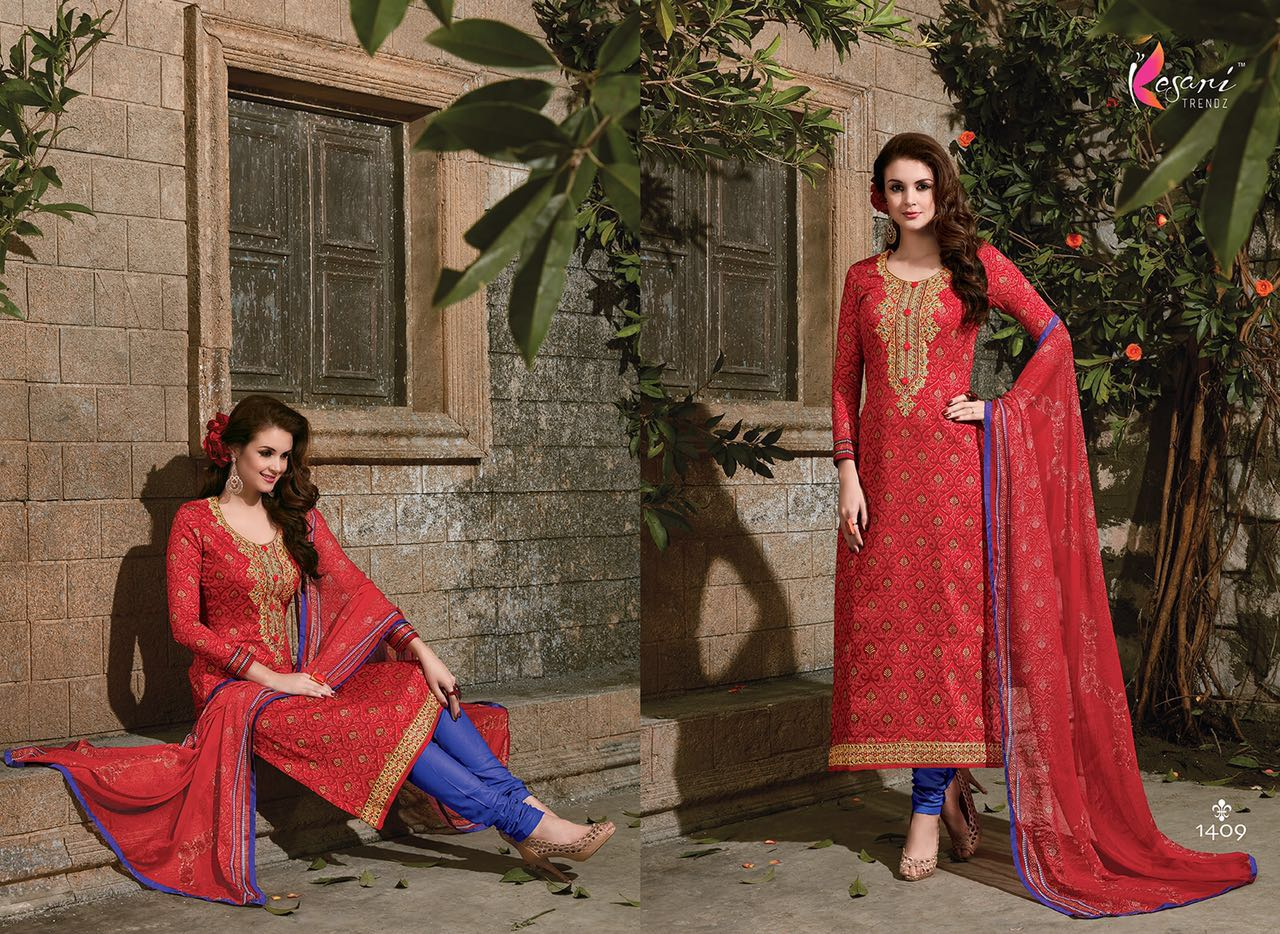 Alia Vol 11- Georgette Long Straight Salwar Kameez Wholesale