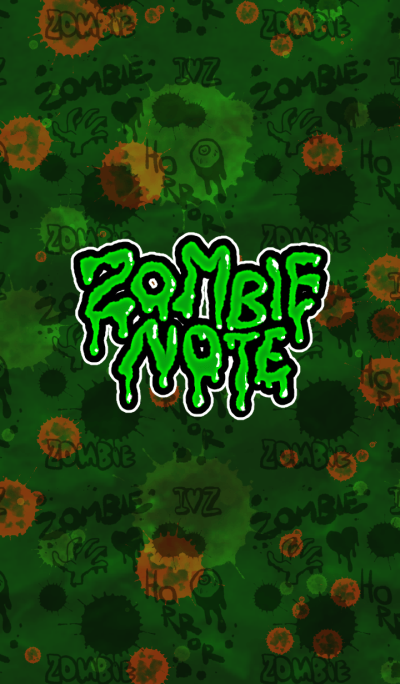 Halloween * Zombie note