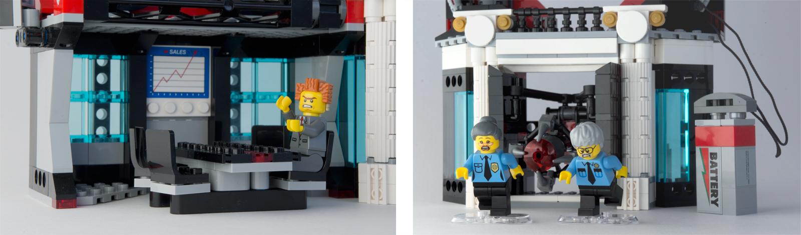 LEGO Set of 6 New Plates 6 X 6 Dark Bluish Gray  The Lego Movie  2014  8-14
