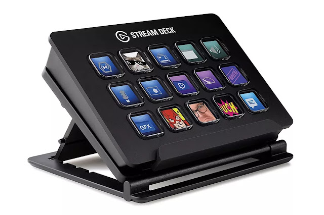 The Elgato Stream Deck could be a customize-able management pad for live streaming that features fifteen liquid crystal display keys for change scenes, launching media, and adjusting audio on the fly. you Will trigger self promotional tweets, chat commands, and a bunch of things you'd typically ought to Alt Tab to try and do. The Stream Deck is The Stream Deck power over 2.0 USB on either Windows 10 or macOS 10.11 and later.