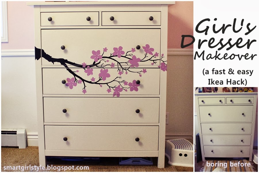 Ikea Hack Hemnes With Cozy Wall Art Decal