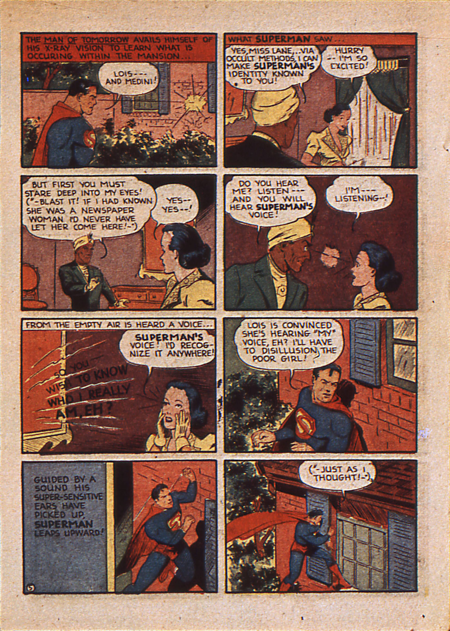 Read online Action Comics (1938) comic -  Issue #25 - 8