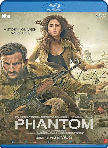 Phantom 2015 Hindi BluRay Download