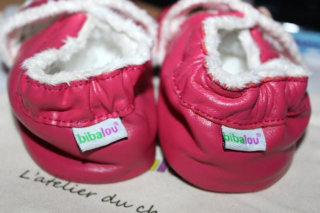 chaussons de filles
