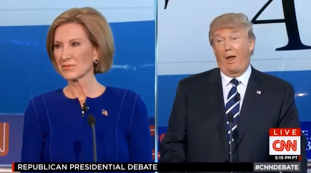 Donald Trump facial expression emote debate