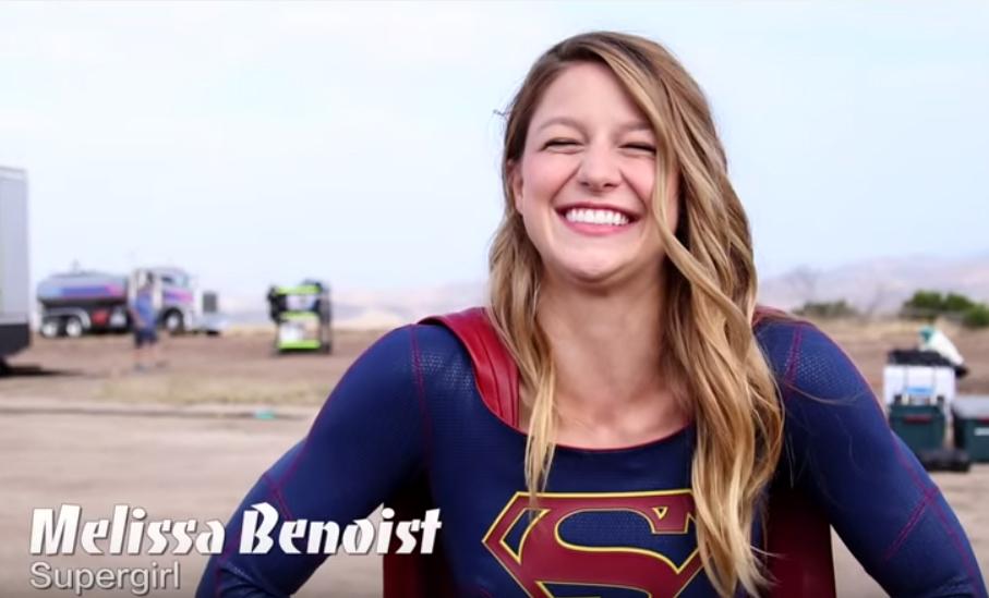 CIA☆こちら映画中央情報局です: Supergirl : メリッサ・ブノワ主演の新TVシリーズ「スーパーガール」が