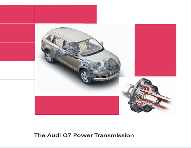 Audi Q7 Power Transmission Manual