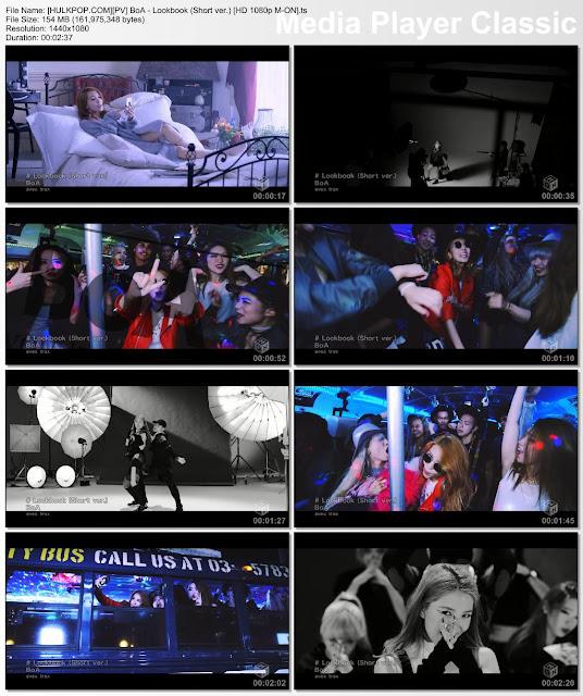 [PV] BoA – Lookbook (Short ver.) [HD 1080p M-ON]