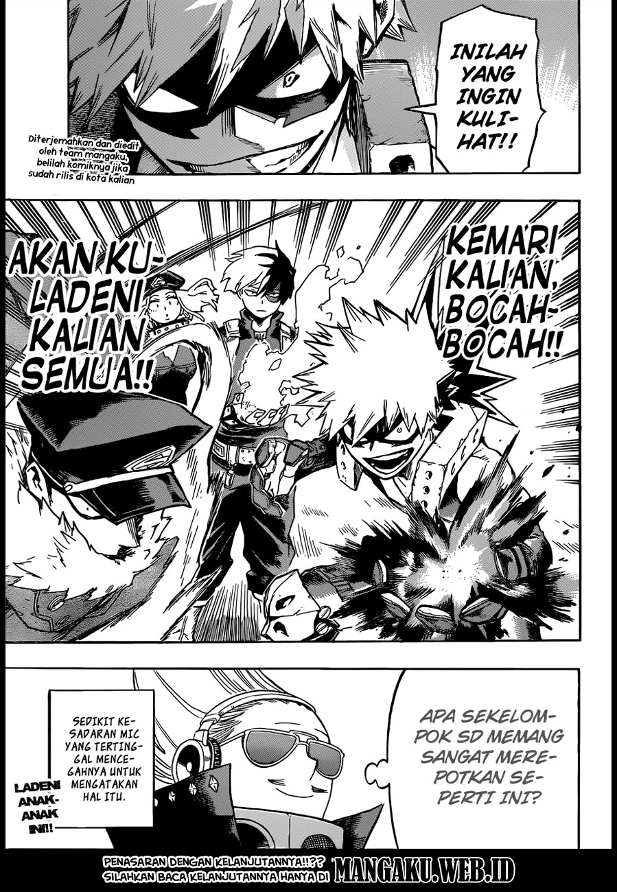 Baca Komik Boku no Hero Academia Chapter 165 Komik Station