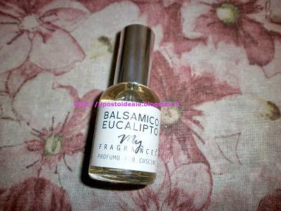 Profumo per cuscino Balsamico Eucalipto