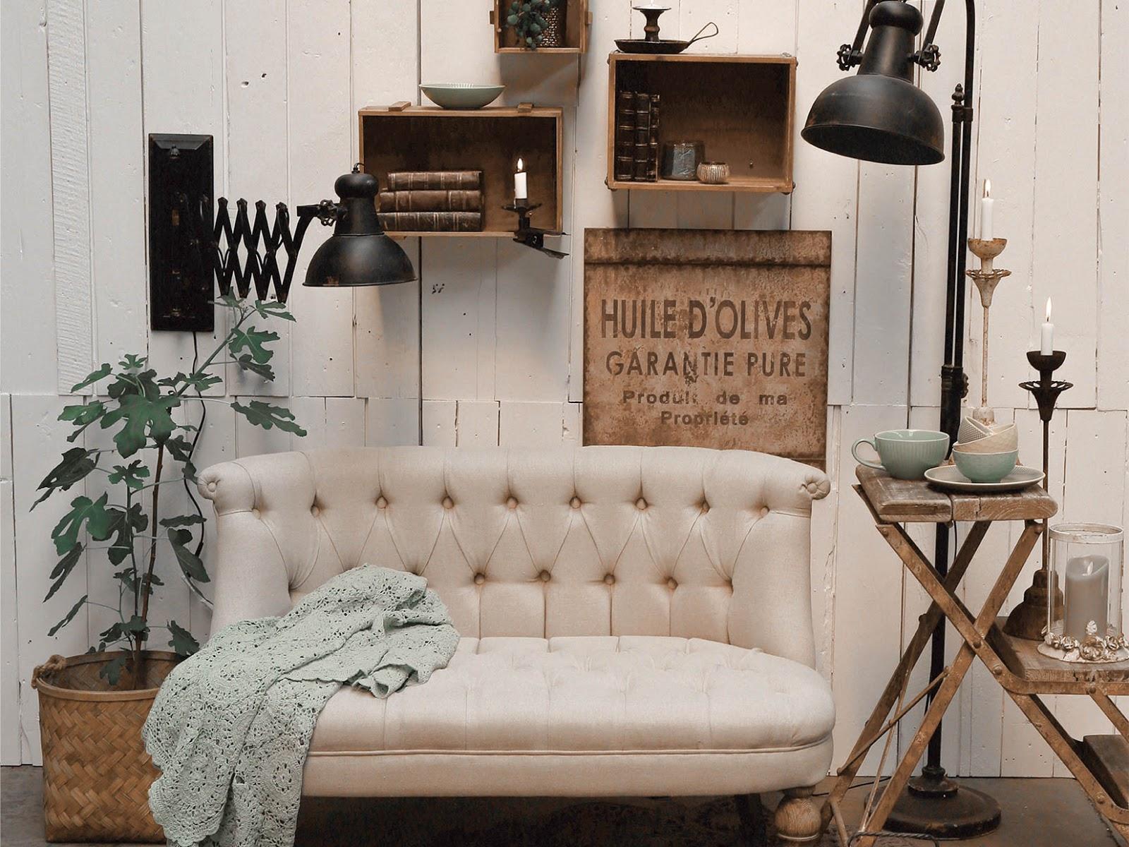Chic Antique Sofa