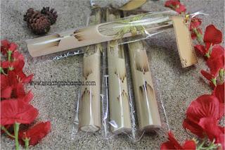 undangan bambu separo